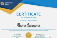 Free 38+ Sample Certificate Templates In Ms Word | Pdf | Psd pertaining to Fresh Certificate Of Recognition Template Word