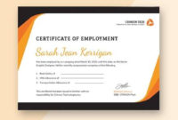 Free 39+ Psd Certificate Templates In Psd | Ai | Ms Word with regard to Unique Certificate Of Employment Templates Free 9 Designs
