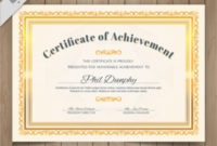 Free 39+ Psd Certificate Templates In Psd | Ai | Ms Word within Sobriety Certificate Template 10 Fresh Ideas Free