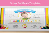 Free 39+ School Certificate Templates In Ai | Indesign | Ms inside Drawing Competition Certificate Template 7 Designs