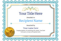 Free Athletics (Track) Certificate Templates Inc Printable in Best Athletic Award Certificate Template