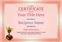 Free Ballet Certificate Templates – Add Printable Badges inside Ballet Certificate Template