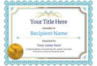 Free Ballet Certificate Templates – Add Printable Badges within Ballet Certificate Template