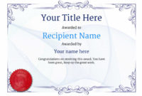 Free Ballet Certificate Templates – Add Printable Badges within Dance Award Certificate Templates