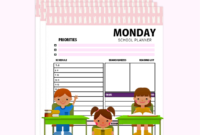 Free Brilliant Daily School Planner For Students! In 2020 throughout Fresh Netball Certificate Templates Free 17 Concepts