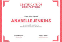 Free Course Certificates Templates To Customize | Canva in Best Training Course Certificate Templates
