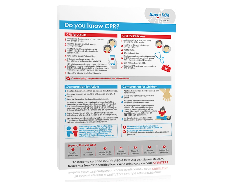 Free Cpr Steps Poster  Savealife - Download Now With Fresh First Aid Certificate Template Top 7 Ideas Free