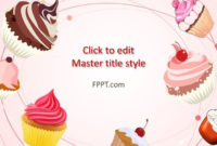 Free Cupcakes Powerpoint Template – Free Powerpoint Templates inside Best Cupcake Certificate Template Free 7 Sweet Designs