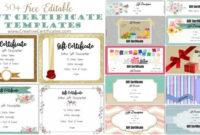 Free Custom Certificate Templates | Instant Download inside 9 Worlds Best Mom Certificate Templates Free