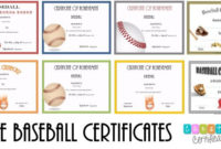 Free Editable Baseball Certificates – Customize Online in Baseball Achievement Certificates
