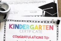 Free, Editable Kindergarten Certificates And Graduation intended for Kindergarten Certificate Of Completion Free