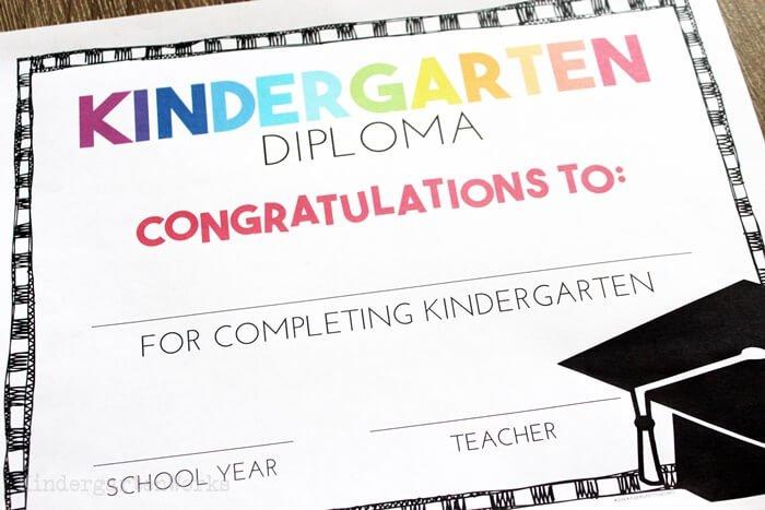 Free, Editable Kindergarten Certificates And Graduation Within Best Kindergarten Graduation Certificate Printable