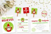 Free Elf On The Shelf Printable Kit!   Pizzazzerie throughout Unique Elf Adoption Certificate Free Printable