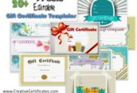 Free Gift Certificate Template | 50+ Designs | Customize in Zoo Gift Certificate Templates Free Download