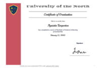 Free Graduation Certificate Template – Pdf Templates | Jotform with Best Free 6 Printable Science Certificate Templates