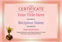 Free Ice Skating Certificate Templates – Add Printable intended for Ice Skating Certificates