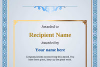 Free Ice Skating Certificate Templates – Add Printable regarding Best Ice Skating Certificates