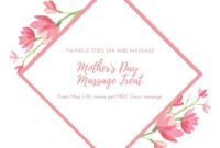 Free Mother'S Day Gift Certificates Templates To Customize within Unique Mothers Day Gift Certificate Templates