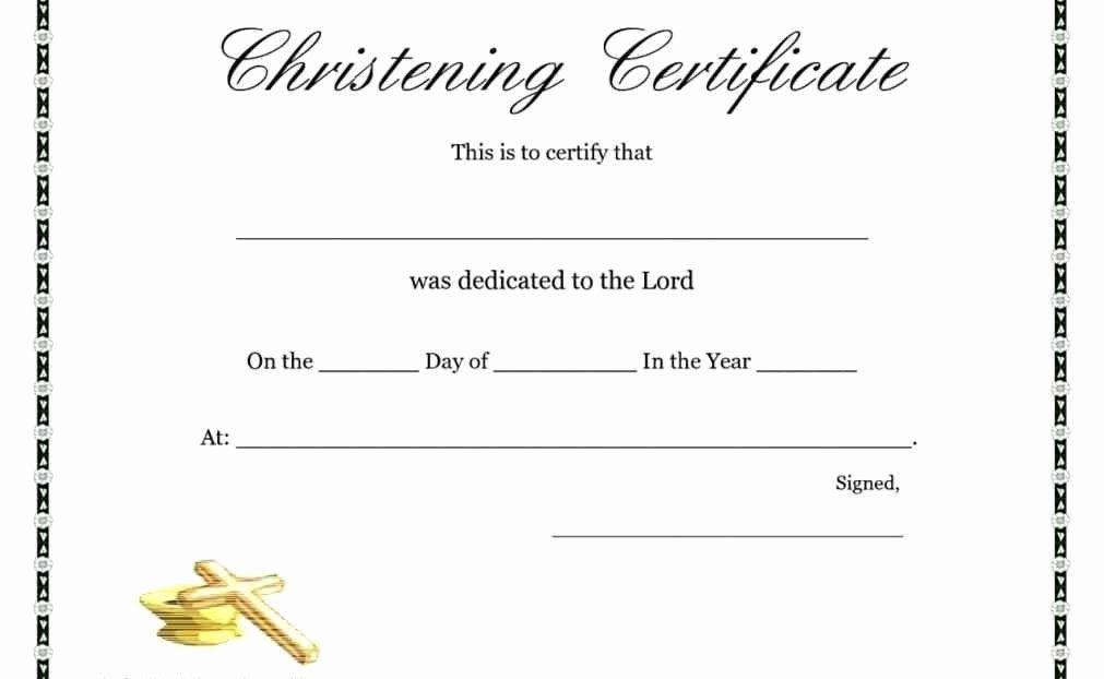 Free Printable Baptism Certificates Fresh Free Printable within Baptism Certificate Template Word 9 Fresh Ideas