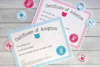 Free Printable Cat Adoption Kits | Chickabug regarding Unique Cat Birth Certificate Free Printable