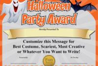 Free Printable Certificates – Funny Printable Certificates for Best Best Costume Certificate Printable Free 9 Awards