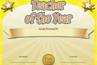 Free Printable Certificates – Funny Printable Certificates in Best Teacher Certificate Templates