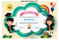 Free Printable Kindergarten Certificate Templates Pdf with Fresh 10 Kindergarten Diploma Certificate Templates Free