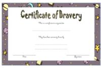 Free Printable Printable Bravery Award Template within Unique Bravery Award Certificate Templates