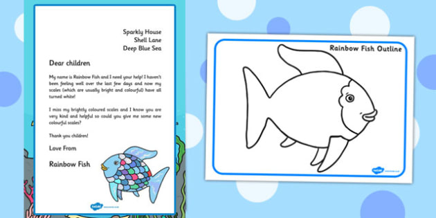 Free! - Rainbow Fish Craft Ideas For Children  Rainbow Fish Intended For Fresh Fishing Certificates Top 7 Template Designs 2019