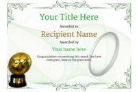 Free Rugby Certificate Templates – Add Printable Badges & Medals with Rugby Certificate Template