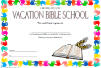 Free School Certificate Templates (1) – Templates Example for Printable Vbs Certificates Free