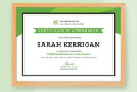 Free Workshop Attendance Certificate Template – Word (Doc pertaining to Unique Blessing Certificate Template Free 7 New Concepts