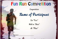Fun Run Certificate Template : 14+ Editable Free Word inside Marathon Certificate Template 7 Fun Run Designs