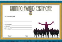 Fun Run Certificate Template Running Certificates Templates with regard to Unique Running Certificate Templates