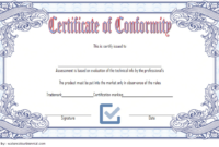 General Certificate Of Conformity Template Free | Two inside Fresh Certificate Of Conformity Template Ideas