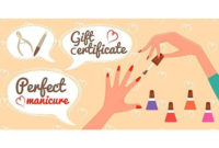 Gift Certificate Perfect Manicure | Photography Gift with Unique Free Printable Manicure Gift Certificate Template