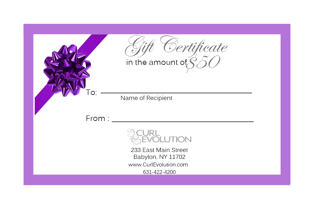 * Gift Certificate Pertaining To Best Salon Gift Certificate