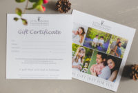 Gift Vouchers For Photo Sessions – Maternity, Newborn with regard to Photography Gift Certificate
