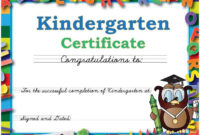 Graduation Caps And Gowns For Kindergarten Daycare And with Best Daycare Diploma Certificate Templates