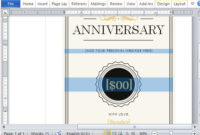 How To Create A Printable Anniversary Gift Certificate regarding Best Anniversary Gift Certificate Template Free