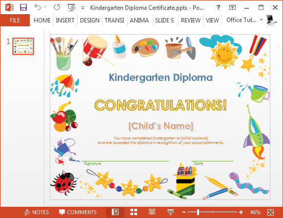 How To Make A Printable Kindergarten Diploma Certificate Throughout Unique Daycare Diploma Template Free