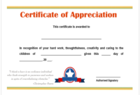 Image Result For Certificate Of Appreciation For Best inside Teacher Appreciation Certificate Templates