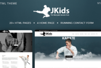 Jkids – Judo Karate And Martial Art Html Website Template Intended For Free 24 Martial Arts Certificate Templates 2020