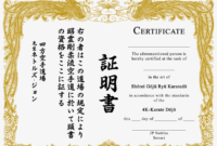 Karate Certificate Png – Beautiful Martial Arts Certificate inside Karate Certificate Template