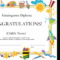Kindergarten Diploma Certificate throughout 10 Kindergarten Diploma Certificate Templates Free