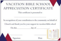 Lifeway Vbs Certificate Templates | Certificate Templates with Best Vbs Attendance Certificate Template