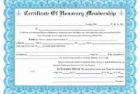 Llc Member Certificate Template ~ Addictionary in Membership Certificate Template Free 20 New Designs