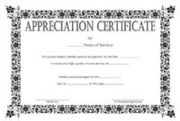 Long Service Award Certificate Template 8 | Professional within Long Service Award Certificate Templates