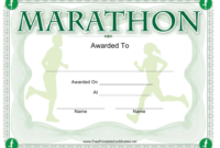 Marathon Award Certificate Template Download Printable Pdf within Fresh Marathon Certificate Templates