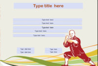 Martial Arts Certificate Templates – 10 Free Sample for Martial Arts Certificate Templates